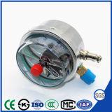 Medidor de Pressão resistente ao choque com o contacto eléctrico