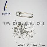 &Phi del grado del magnete di Ck-259 NdFeB; 0.2*2.54mm