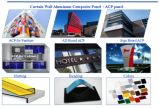 UV 인쇄로 광고하는 Signage를 위한 3mm 백색 인쇄 Acm 알루미늄 합성 위원회