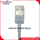 Cable de datos de carga del USB del iPhone del conector del USB de los accesorios del teléfono móvil