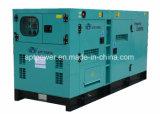 Max. Diesel van het Type van Motor van Cummins van de Macht van de Output 80kw Stille Generator van de Macht