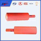 Rolo de parafuso lateral para transportador de correia