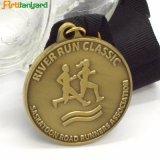 El cliente Diseño de logotipo de la medalla de metal con el recuerdo