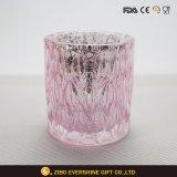 卸し売りクリスタルグラスの奉納の蝋燭ホールダー
