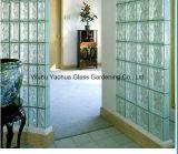 Ясный стеклянный блок для декоративной стены 80X190X190