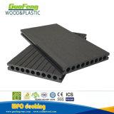 Schwarzer HöhlungWPC Decking mit aufbereiteten Materialien mit Cer Certificiate