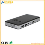 Smart Wireless карманного проектора пользоваться как большой как 120-дюймовый экран поддерживает HDMI-в