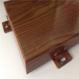 Алюминиевая панель с деревянным зерном для украшения