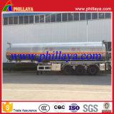 Aanhangwagen van de Tank van het Aluminium van het Lichaam van de Tanker van de Vrachtwagen van de brandstof de Spiegel Opgepoetste