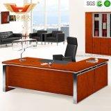 Modern New Design Office Table Bureau exécutif Cadre en acier inoxydable