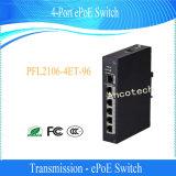 Dahua 4 порта Ethernet сети Epoe переключатель для защиты камеры (ePoE 4 порта коммутатора)