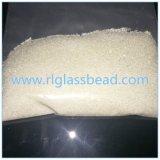 Rohstoff-Glasraupen für das Sand-Starten