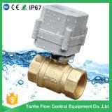 1 '' Ce шарикового клапана воды 2 дорог моторизованный латунью Approved, RoHS