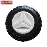 10X3/chariot de golf en caoutchouc mousse de PU Roue avec pneu libre plat