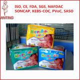 I pannolini felici rapidi del bambino di marca privata di prezzi bassi di buona qualità di consegna comerciano