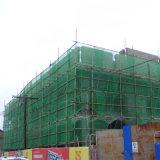 보호를 위한 단단한 예리하게 된 건축 비계 파편 그늘 그물