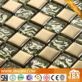 Luxury Living pared del sitio del oro y de la plata Shinning Mosaico de vidrio (G623002)