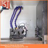 Fuso de duplo Tornos CNC Pequeno