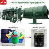 3-12td販売のための不用なプラスチックタイヤの熱分解のプラント