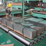 DIN EN10143 DX51d Galvanzied por imersão a quente da bobina de aço com a SGS RELATÓRIO DE ENSAIO