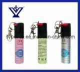 Маркированный перцовый аэрозоль Keychain самозащитой с голубой жидкостью (SYRD-3B)