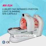 Slimming a cápsula clara infravermelha dos TERMAS da sauna da terapia do diodo emissor de luz do vapor do ozônio para a venda