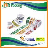 El precio de fábrica coloreó la cinta de empaquetado impresa para el lacre del cartón
