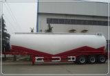 3 Les cendres volantes d'essieu vraquier remorques de transport utilisé du ciment