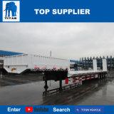 タイタン新しいデザイン4車軸は60ton -南アフリカ共和国でトラックのトレーラーを半強く引く100ton低いベッド使用した