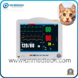 Portátil de 10,4 pulgadas Multi-Parameters Monitor Monitor de signos vitales del paciente veterinarias