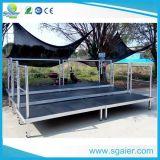 Plataforma de aluminio de los blanqueadores de la escuela con precio bajo
