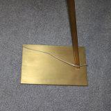 Lâmpada de assoalho ereta de bronze antiga Rotatable do fornecedor chinês