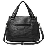 Borsa del progettista della borsa promozionale della signora Tote Mummy Bag Shopping di modo della borsa delle donne del sacchetto di cuoio dell'unità di elaborazione Nizza (WDL0589)