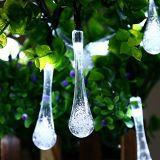 Luz de Natal solar clara do diodo emissor de luz da decoração