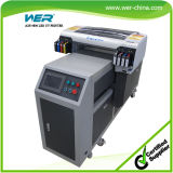 Ce Aprovado Inkjet LED UV Flatbed Printer para Metal, Madeira, Acrílico e PVC Card