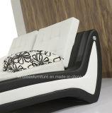 Причудливый модельная кожаный причудливый конструкция кровати A063