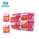 Utilisation de la machine d'étanchéité de la chaleur PE de papier couché avec film PE pour les emballages alimentaires, matériel de Conditionnement Sachet de poudre