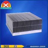 전자 컨버터를 위한 알루미늄 밀어남 단면도 열 싱크