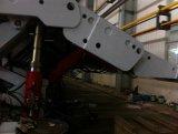 Cilindro hidráulico da luva de vários estágios da maquinaria agricultural do plantador do transporte da árvore