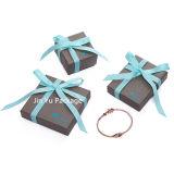 Fabricante gris popular de las cajas de embalaje de la joyería del regalo de la cartulina del color