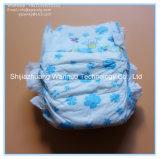 魔法テープ布は使い捨て可能なおむつを看護しているフィルムの赤ん坊を好む