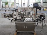 Qualitäts-doppelte seitliche anhaftende Etikettiermaschine für runde/quadratische Flasche