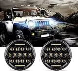 "il faro di 78W LED con DRL, impermeabilizza "" faro del LED 7 per la jeep dell'automobile"