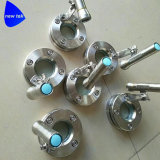 Sanitair Licht glas-Roestvrij Staal 304/316 van het Gezicht