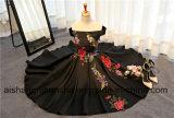 Lieferungs-Stutzen-langer Kerzenhalter-formales Abschlussball-Kleid-Abend-Kleid
