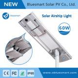 60W iluminação LED Solar exterior com Sensor de movimento