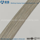 PVC en bois de bordure foncée des graines pour des meubles de forces de défense principale