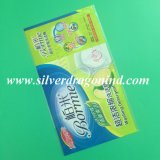 Escritura de la etiqueta de calidad superior de la funda del encogimiento del PVC para el embalaje de la botella de agua