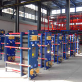 Mosto sanitario del acero inoxidable de AISI304/316L que refresca a cambiador de calor de la placa de Gasketed