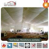 barraca da igreja de 10X70m para 1000 povos com forro da cortina